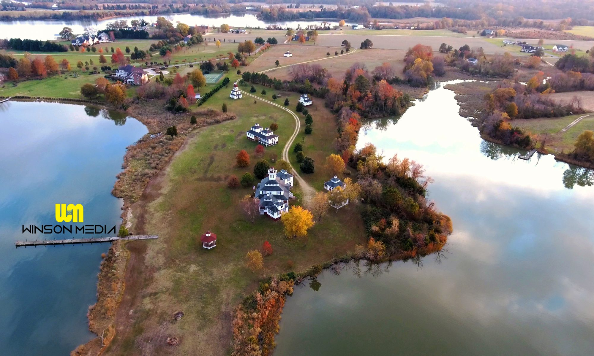 Winson Media FAA Certified Drone Aerial UAS UAV Unmanned Aerial System Vehicle Maryland Real Estate