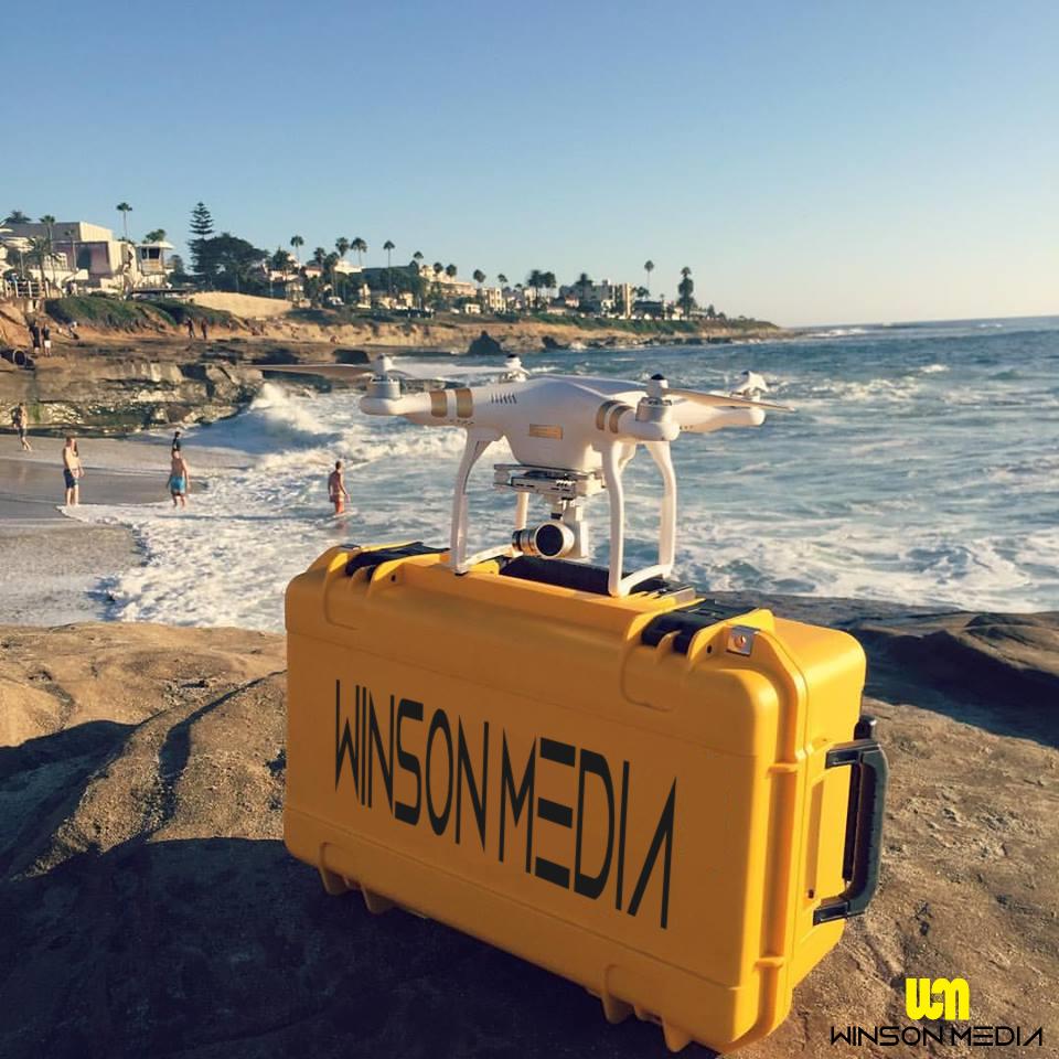 La Jolla San Diego California Drone UAS UAV DJI
