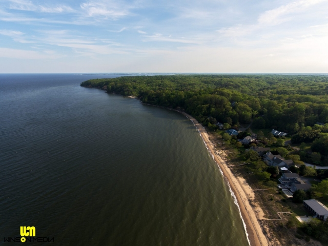 Lusby Calvert Country Southern Maryland Drone UAS Winson Media Real Estate Waterfront